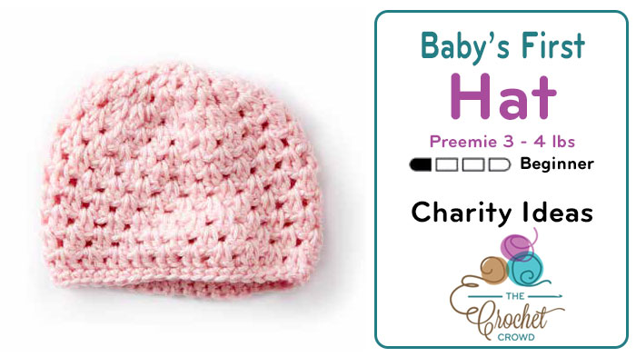 Crochet Hat Pattern For Premature Baby : Crochet Babys First Preemie Hat 3 - 4 lbs + Tutorial ...