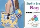 Crochet Starfish Beach Bag + Tutorial