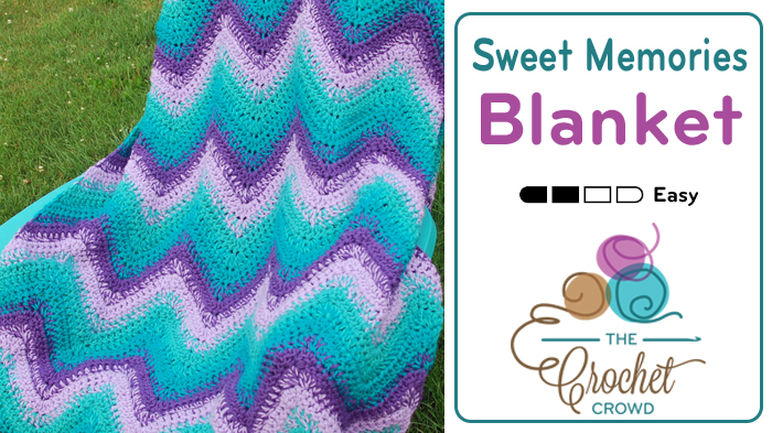 Crochet Sweet Memories Blanket