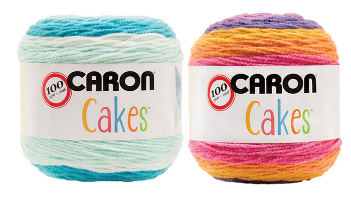 Caron Cakes Yarn Exclusively at Michaels Stores USA