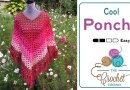 Crochet Cool Poncho + Tutorial