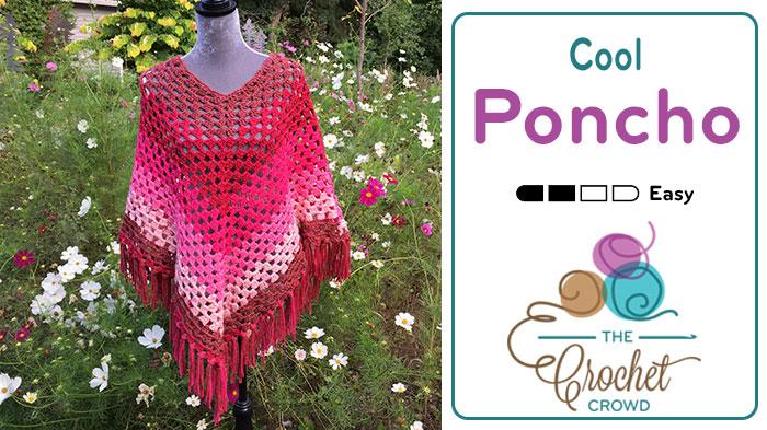 Crochet Cool Poncho
