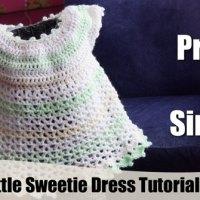 Crochet Little Sweetie Baby Dress