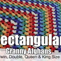 Rectangular Granny Afghans: All Sizes