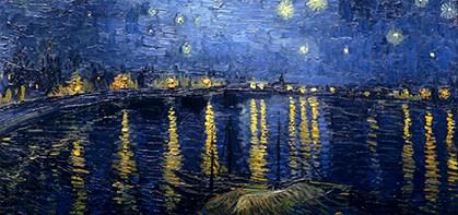 Noche estrellada sobre el Ródano, 1888