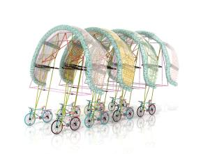 Cycling Bus stops. Izaskun Chinchilla