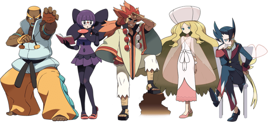Teselia Alto Mando - Pokemon