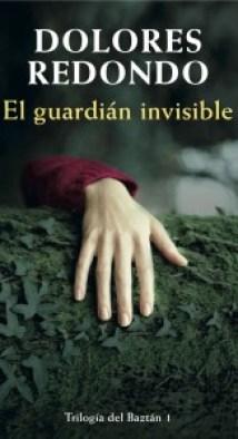 Portada de El Guardián Invisible, de tapa dura, como los DVDs.