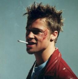 Tyler Durden, interpretado por Brad Pitt en El club de la lucha (1999), de David Fincher.