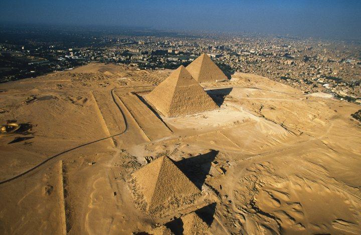 Pirámides de Giza, foto de Natonal Geographic