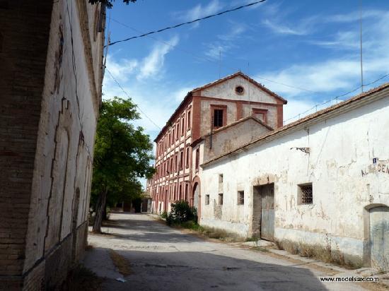 Fábrica de Harina Colonia Santa Eulalia.