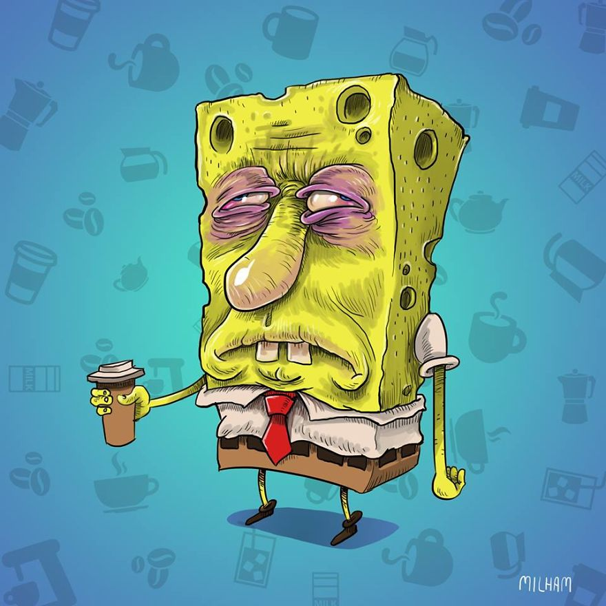 spongebob-before-coffee