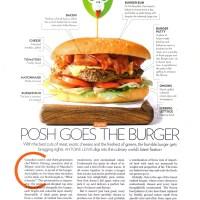 Posh Goes The Burger
