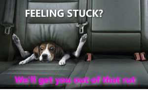 feeling stuck in life