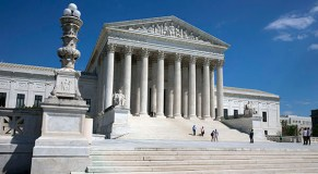 5 arrested in protest at Supreme Court