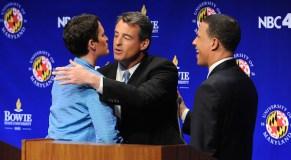 Gansler, Brown clash over health care