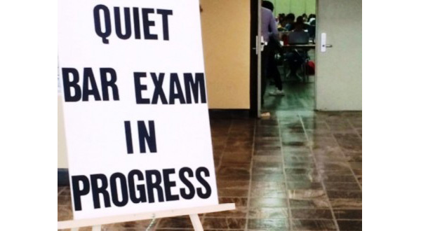 Bar Exam in progress