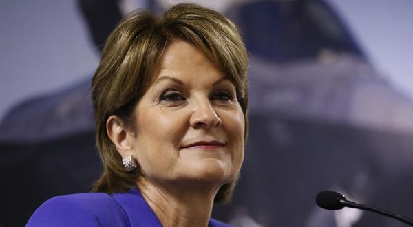 Lockheed Martin's Hewson No. 7 on female CEO pay list