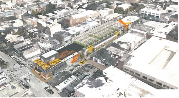 Cross Street Market renderings reveal aggressive redesign