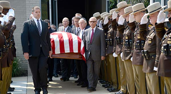 Photos: Gov. Mandel's Funeral