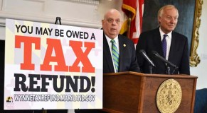 Hogan, Franchot launch website to return $200m in taxes