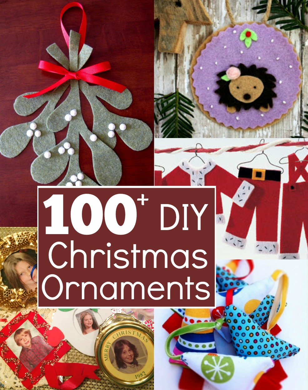 Deck your family tree with these amazing Christmas Ornaments. Each DIY is easy to make and filled with tons of family fun.