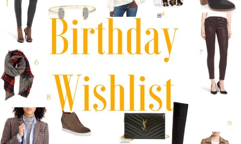 The Darling Petite Diva  Birthday Wishlist