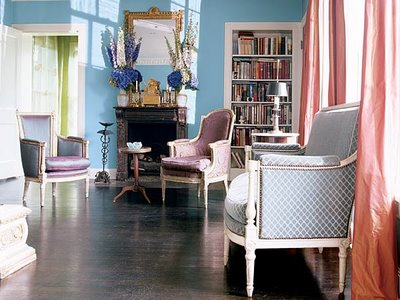 Purple Living Room Southern Accents Magazine Purples, Lavenders, and Blues