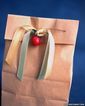 paper sack gift bags Simple and Cheap Christmas Gift Wrap Ideas
