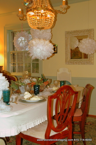 DSC 0995 Dinner Party with a Winter Forest Theme