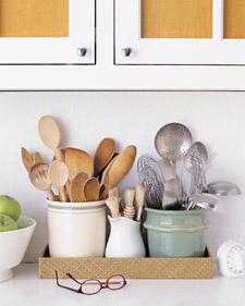 kitchen utensils Edit and Declutter Your Kitchen