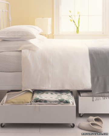 under bed boxes by martha stewart Stylish Storage