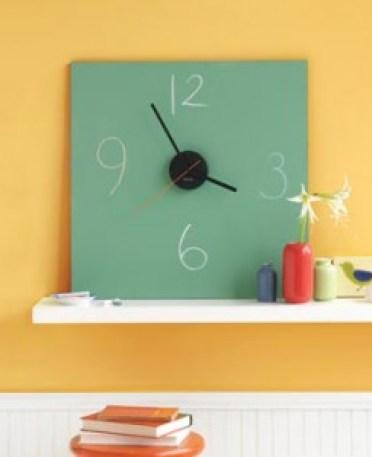 chalkboard clock by craftstew Handmade Clocks
