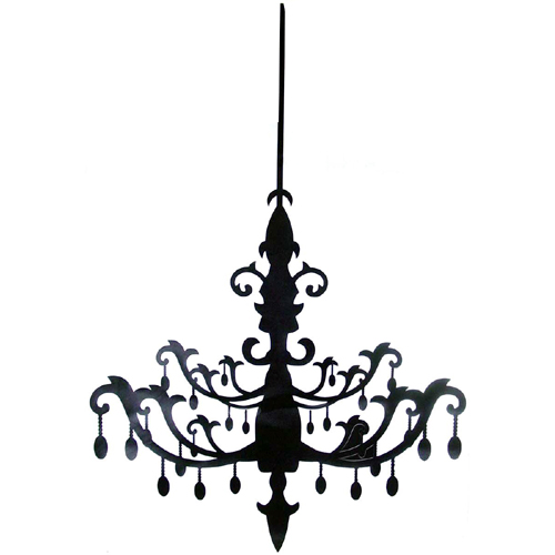 silhouette chandelier via stylehive Silhouettes