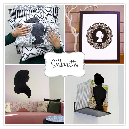 silhouettes collage via twolia Silhouettes