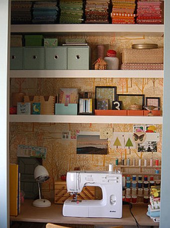 craftcloset via casasugar The Closet Office