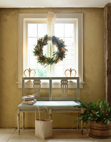 bench swedish via country living Gustavian Style