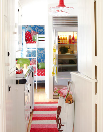 colorful kitchen via hb Colorful Beach House