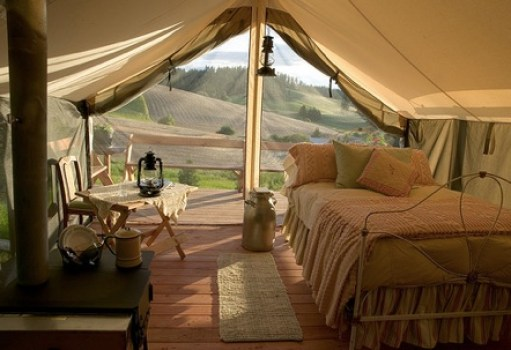 glamping via ecosalon Gone Glamping!