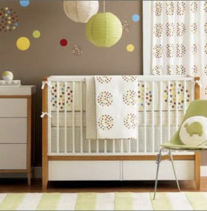 neutral nursery via hatched prints Gender Neutral Nurseries
