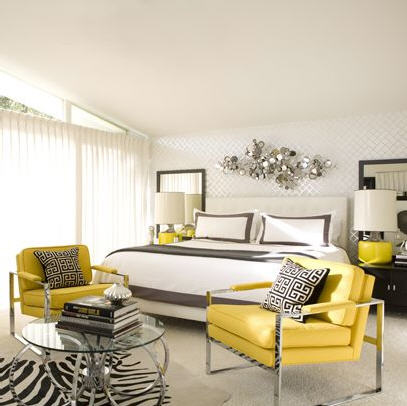 yellow chairs via decor pad How to Brighten Your Day with Pops of Yellow