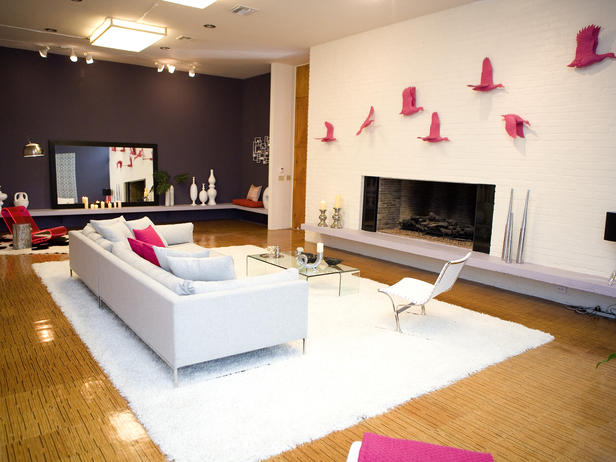 antonios room on design star via hgtv Please Do It Right, or Dont Do It At All   The Accent Wall