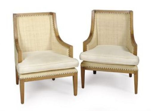 limed wood chairs via christies Limed Wood:  Hot, Hot, Hot
