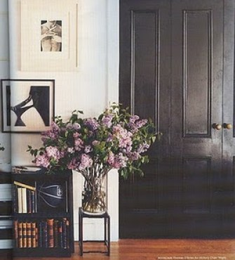 black door domino via hisugarplum Designer Secret for Instant Sophistication!