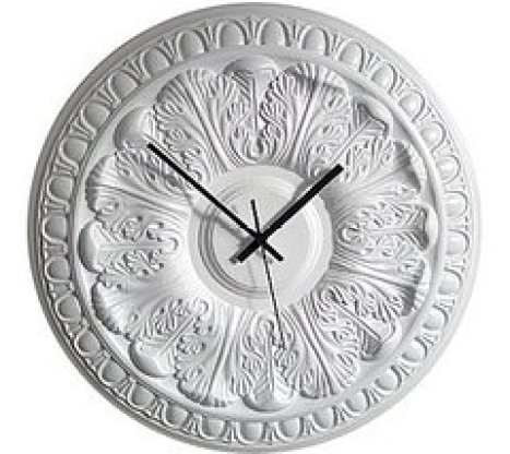 DesireAcquire Ceiling Medallion Clock via casasugar Add a Little Something to Your Ceiling
