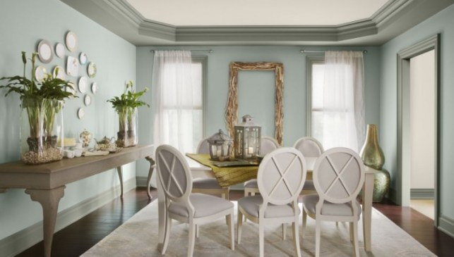 wythe blue dining via hirshfield wordpress Nashville Color Expert Announces 2012 Color of the Year: Wythe Blue