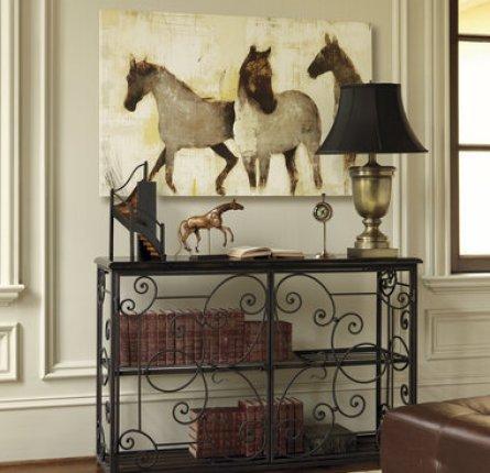 ballard design horse art Galloping into a Home Near You   The Horse Trend
