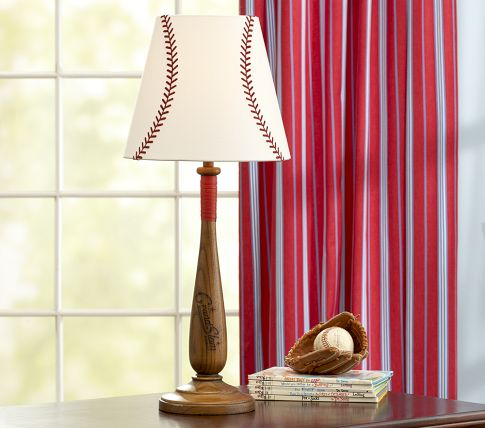 baseball lamp Childs Play   A Virtual Design for Boys Room