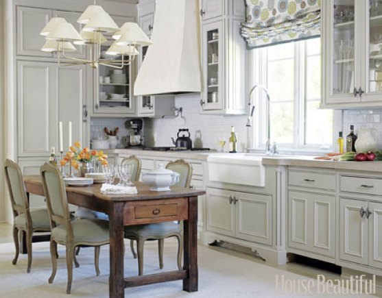 white kitchen via hb Why White Kitchen Cabinets are The Right Choice