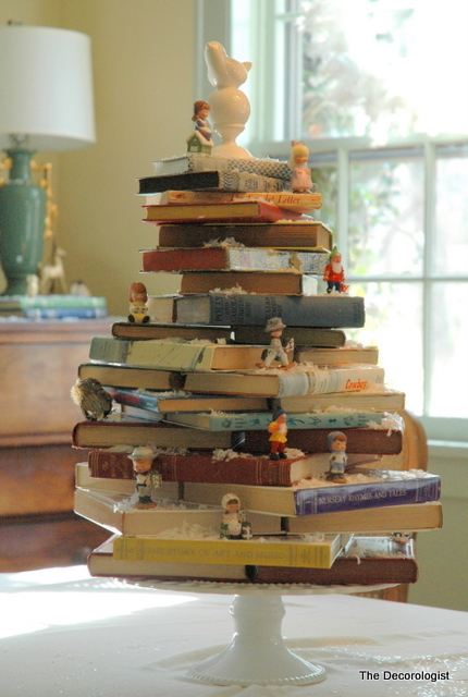 DSC 2787 A Book Lovers Christmas Tree